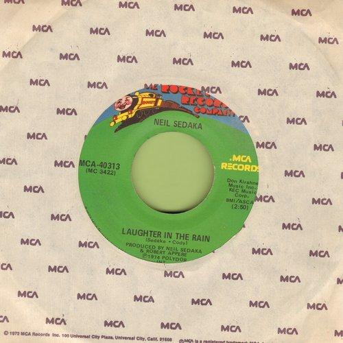 Sedaka, Neil - Laughter In The Rain/Endlessly  - NM9/ - 45 rpm Records