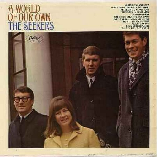 Seekers - A World Of Our Own: This Land Is Your Land, The Times They Are A Changin', Allentown Jail, The Leaving Of Liverpool (Vinyl MONO LP record) - NM9/EX8 - LP Records
