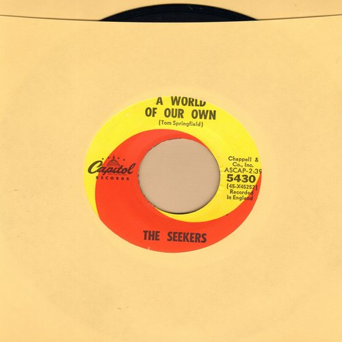 Seekers - A World Of Our Own/Sinner Man - EX8/ - 45 rpm Records