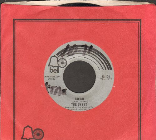 Sweet - Co-Co/You're Not Wrong For Loving Me (with Bell company sleevew, wol) - EX8/ - 45 rpm Records