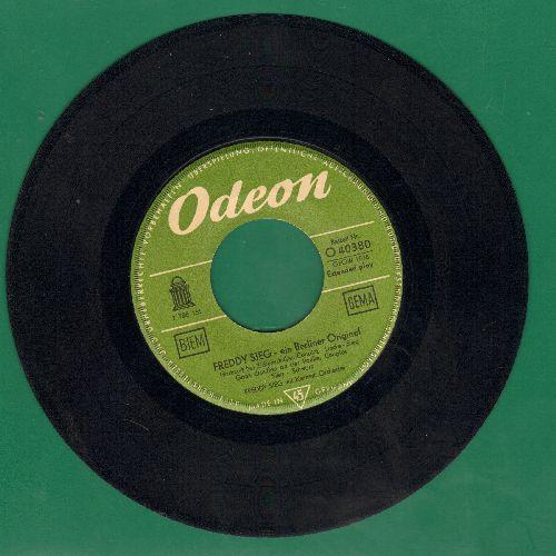 Sieg, Fredy - Ein Berliner Original, vinyl EP record includes Hochzeit bei Zickenschulze and Krumme Lanke (Classic German Comedy Songs, German Pressing) - VG7/ - 45 rpm Records