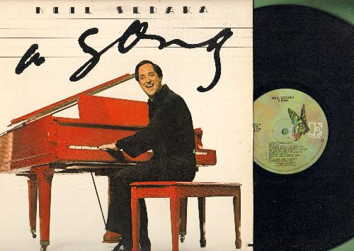 Sedaka, Neil - A Song: Amarillo, The Leaving Game, Tin Pan Alley, One Night Stand, Alone At Last (Vinyl STEREO LP record) - NM9/EX8 - LP Records