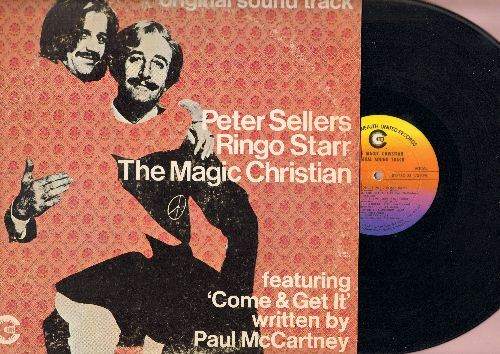 Sellers, Peter & Ringo Starr - The Magic Christian - Original Sound Track - Featuring 'Come & Get It' written by Paul McCartney (Vinyl LP record) - EX8/VG6 - LP Records