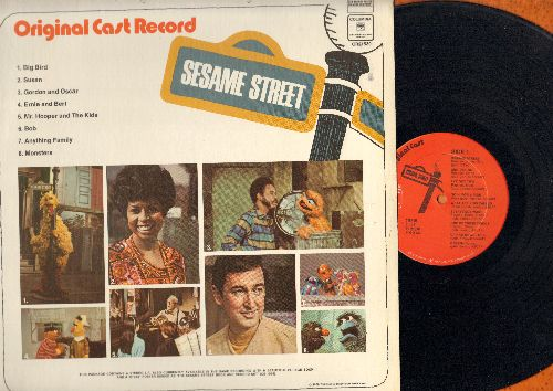 Sesame Street - Sesame Street: Rubber Duckie, People In The Neighborhood, I Love Trash, One Of These Things, Green (Vinyl STEREO LP record) - EX8/EX8 - LP Records