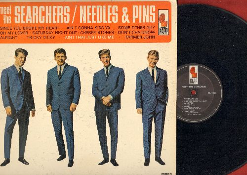 Searchers - Meet The Searchers - Needles And Pins: Ain't Gonna Kiss Ya, Farmer John, Don't Cha Know, Alright (Vinyl MONO LP record) - VG7/VG7 - LP Records