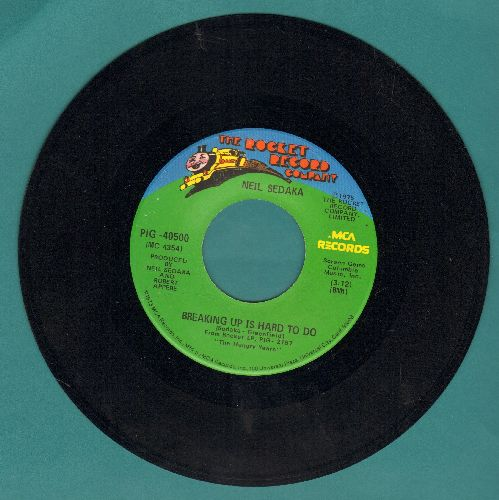 Sedaka, Neil - Breaking Up Is Hard To Do/Nana's Song  - NM9/ - 45 rpm Records