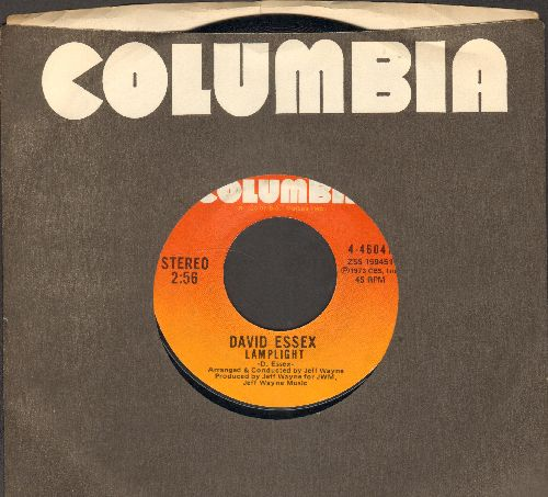 Essex, David - Lamplight/We All Insane (with Columbia company sleeve) - NM9/ - 45 rpm Records