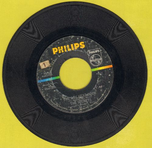 Secrets - The Boy Next Door/Learnin' To Forget  - VG6/ - 45 rpm Records
