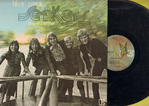 New Seekers - Beautiful People: Look What They've Done To My Song Ma, Your Song, One, 18 Carat Friend (vinyl STEREO LP record) - NM9/EX8 - LP Records