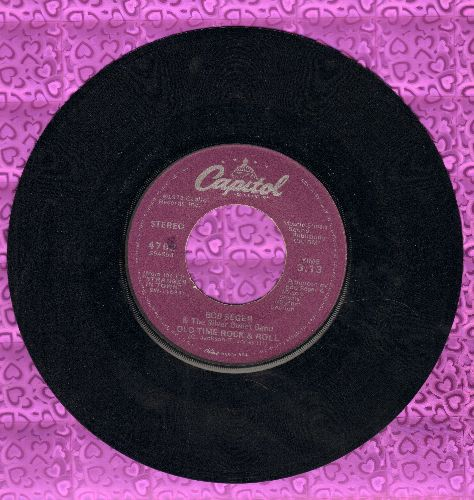 Seger, Bob & The Silver Bullet Band - Old Time Rock & Roll/Sunspot Baby (RARE alternate flip-side) - VG7/ - 45 rpm Records