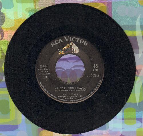 Sedaka, Neil - Alice In Wonderland/Circulate  - VG7/ - 45 rpm Records