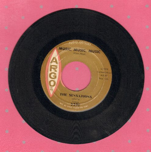 Sensations - Music, Music, Music/A Part Of Me - EX8/ - 45 rpm Records