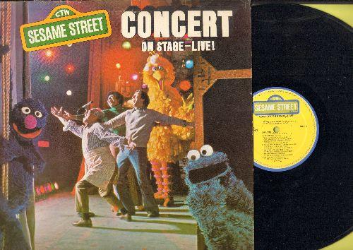 Sesame Street - Concert On Strage - Live! (vinyl STEREO LP record) - NM9/VG7 - LP Records
