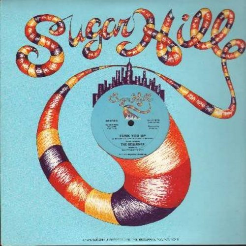 Sequence - Funk You Up (12 inch 33rpm vinyl Maxi Single featuring 10:30 minutes Version and 6:30 minutes Version of Vintage Funk Hit!) - VG7/ - LP Records