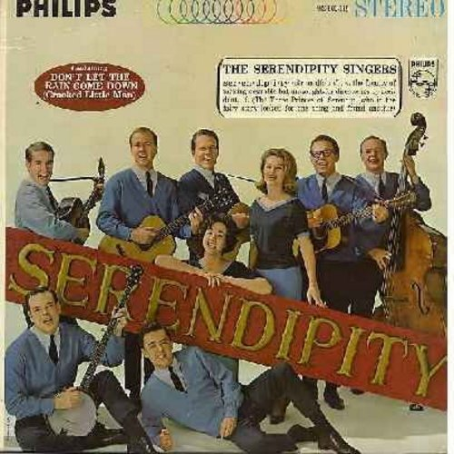Serendipity Singers - Serendipity: Freedom's Star, Goin' Home, Don't Let The Rain Come Down, Boots And Stetsons, Sailin' Away, Sunshine Special, Waggoner Lad (Vinyl STEREO LP record) - NM9/NM9 - LP Records