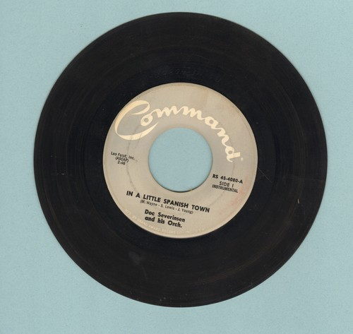 Severinsen, Doc & His Orchestra - In A Little Spanish Town/Tennessee Waltz - EX8/ - 45 rpm Records
