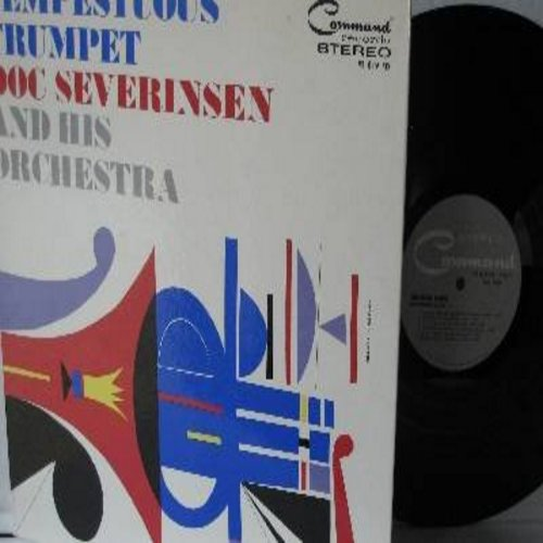 Severinsen, Doc & His Orchestra - Tempestuous Trumpet: , Mack The Knife, Sleepy Lagoon, And The Angels Sing, When It's Sleepy Time Down South (Vinyl STEREO LP record, gate-fold cover) - NM9/NM9 - LP Records