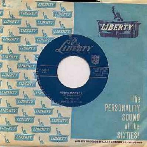 Seville, David - Witch Doctor (This NOVELTY Hit preceded all of the Chipmunk songs!)/Don't Whistle At Me Baby (with vintage Liberty company sleeve and juke box label) - EX8/ - 45 rpm Records