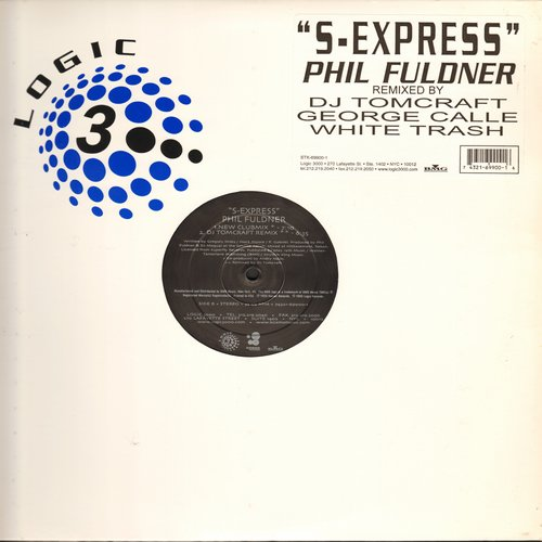 Fuldner, Phil - S-Express - Remixed by DJ Tomcraft (12 inch Maxi Single featuring 4 Extended Dance Club Versions, 1999 Re-Mixes of Techno-Classic) - NM9/ - Maxi Singles