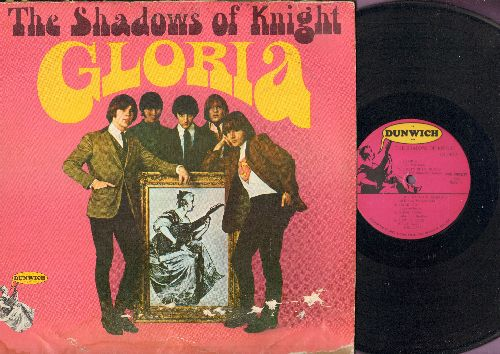 Shadows Of Knight - Gloria: I Got My Mojo Working, Let It Rock, Oh Yea, (I'm Your) Hoochie Coochie Man (Vinyl MONO LP record, rough cover!) - VG6/G4 - LP Records