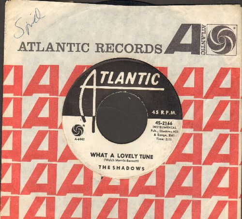 Shadows - What A Lovely Tune/Guitar Tango (DJ advance pressing) - VG7/ - 45 rpm Records