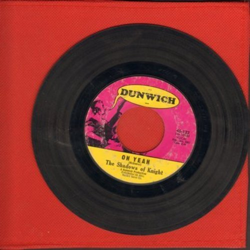 Shadows Of Knight - Oh Yeah/Light Bulb Blues - EX8/ - 45 rpm Records