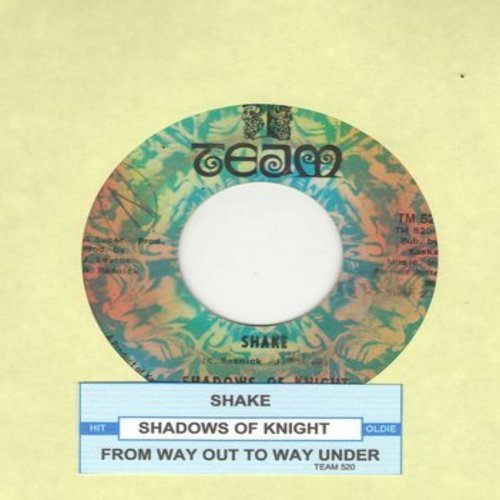 Shadows Of Knight - Shake/From Way Out To Way Under (with juke box label) - VG7/ - 45 rpm Records
