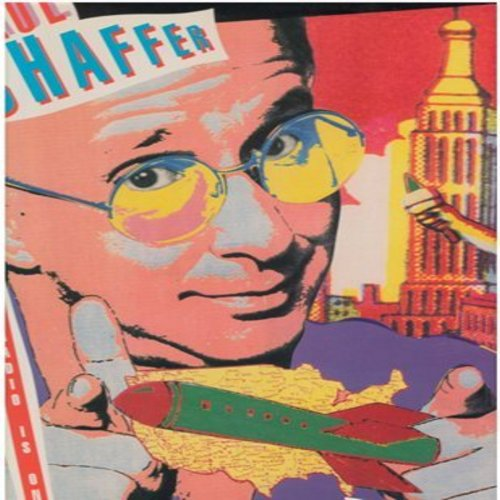 Shaffer, Paul - When The Radio Is On (5 different Extended Dance Club Versions of the Novelty Hit - 12 inch 33rpm vinyl Maxi Single with picture cover) (Paul Shaffer is a long-time regular side-kick on TV's David Letterman Show) - NM9/NM9 - LP Records