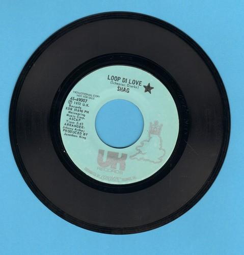 Shag - Loop Di Love/Lay It Down (DJ Pressing) - EX8/ - 45 rpm Records