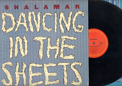Shalamar - Dancing In The Sheets (6:17 Extended Club Version)/Dancing In The Sheets (5:00 Instrumental Version) - NM9/EX8 - 45 rpm Records