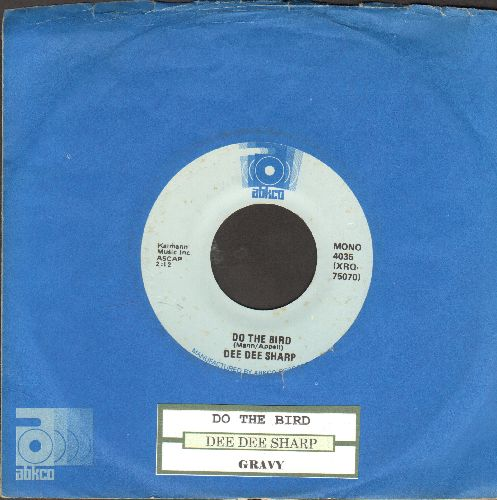 Sharp, Dee Dee - Do The Bird/Gravy (double-hit re-issue with juke box label and Abkco company sleeve) - NM9/ - 45 rpm Records
