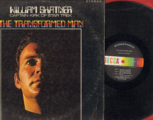 Shatner, William - The Transformed Man - King Henry V Elegy For The Brave, Theme From Cyrano - Mr. Tambourine Man, Hamlet - It Was A Very Good Year, Spleen - Lucy In The Sjy With Diamonds (vinyl STEREO LP record) - EX8/VG7 - LP Records