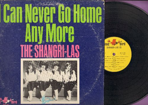 Shangri-Las - I Can Never Go Home Any More: Give Us Your Blessings, You Cheated You Lied, I'm Blue (Vinyl LP record) - EX8/VG6 - LP Records