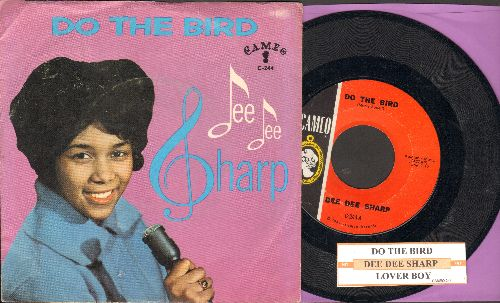 Sharp, Dee Dee - Do The Bird/Lover Boy (with juke box label and picture sleeve) - NM9/EX8 - 45 rpm Records