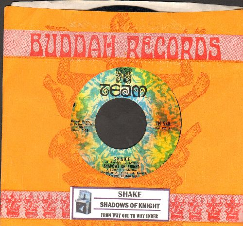 Shadows Of Knight - Shake/From Way Out To Way Under (with juke box label and company sleeve)(bb) - EX8/ - 45 rpm Records