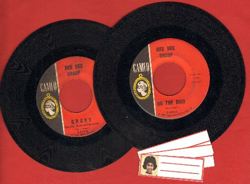 Sharp, Dee Dee - 2 for 1 Special: Gravy/Do The Bird (2 vintage first issue 45rpm records for the price of 1!) - VG7/ - 45 rpm Records
