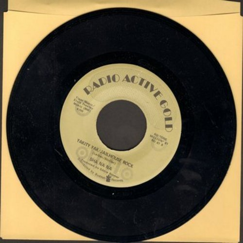 Sha Na Na - Yakety Yak/Jailhouse Rock/Only One Song (re-issue) - M10/ - 45 rpm Records