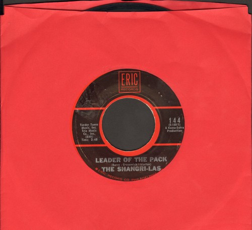 Shangri-Las - Leader Of The Pack/I Can Never Go Home Anymore (early double-hit re-issue) - EX8/ - 45 rpm Records