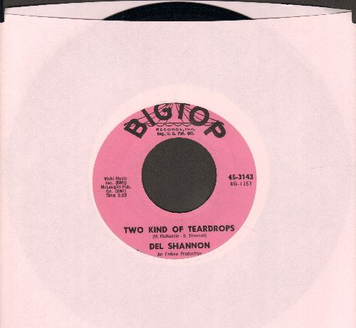 Shannon, Del - Two Kind Of Teardrops/Kelly - EX8/ - 45 rpm Records