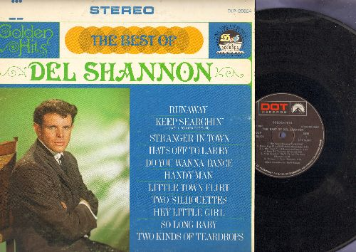 Shannon, Del - The Best Of: Runaway, Handy Man, Hats Off To Larry, Little Town Flirt (vinyl STEREO LP record) - NM9/EX8 - LP Records