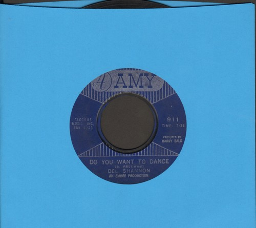 Shannon, Del - Do You Want To Dance/This Is All I Have To Give  - VG7/ - 45 rpm Records