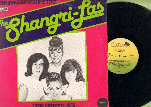 Shangri-Las - Teen Anguish Vol. 2 - Their Greatest Hits: Leader Of The Pack, Give Him A Great Big Kiss, Give Us Your Blessing, Long Live Our Love (Vinyl LP record, 1981 Italian Pressing) - NM9/EX8 - LP Records