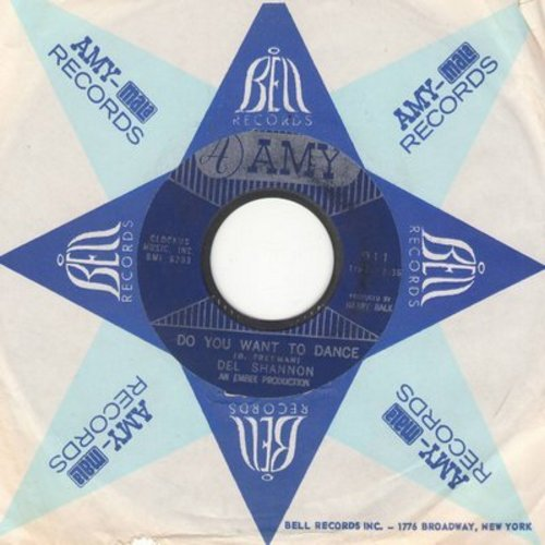 Shannon, Del - Do You Want To Dance/This Is All I Have To Give (with Amy company sleeve) - EX8/ - 45 rpm Records