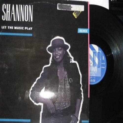 Shannon - Let The Music Play (6:10 minutes Dub Version)/Let The Music Play (5:49 minutes) (12 inch 33rpm Vinyl Maxi Single) - EX8/ - Maxi Singles