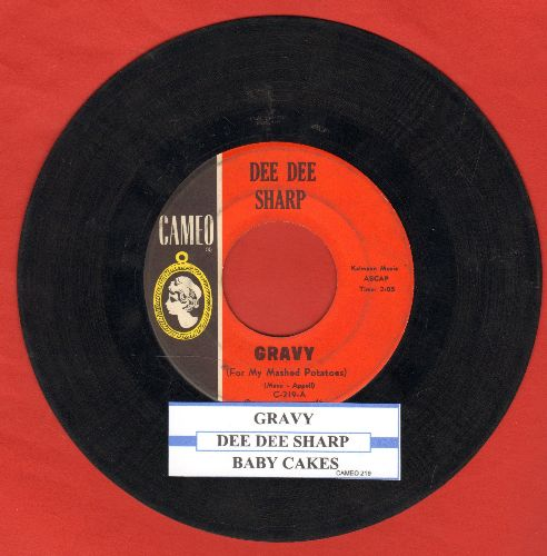 Sharp, Dee Dee - Gravy (For My Mashed Potatoes)/Baby Cakes (with juke box label) - VG7/ - 45 rpm Records