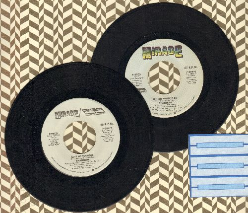Shannon - 2 for 1 Special: Let The Music Play/Give Me Tonight (2 vintage first issue 45rpm records for the price of 1!) - EX8/ - 45 rpm Records