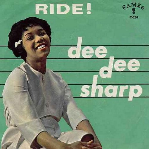 Sharp, Dee Dee - Ride!/The Night (with picture sleeve and juke box label) - NM9/EX8 - 45 rpm Records
