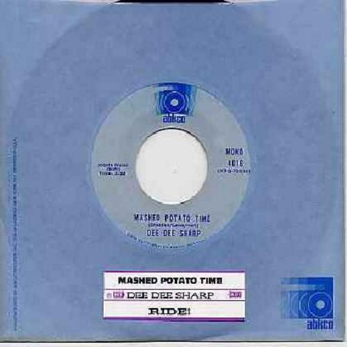 Sharp, Dee Dee - Mashed Potato Time (It's The Latest, It's The Greatest)/Ride (early double-hit re-issue with Abkco company sleeve and  juke box label) - M10/ - 45 rpm Records