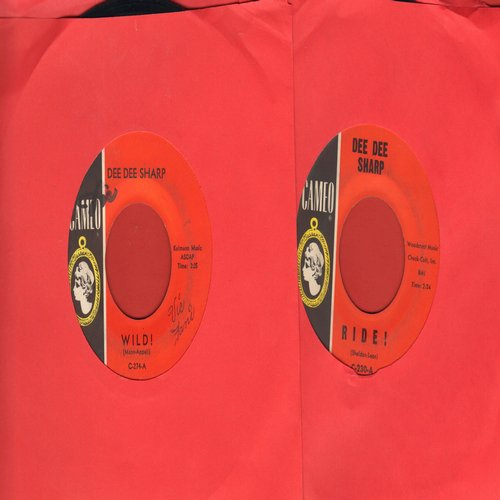 Sharp, Dee Dee - 2 for 1 Special: Ride!/Wild! (2 vintage first issue 45rpm records for the price of 1!) - EX8/ - 45 rpm Records