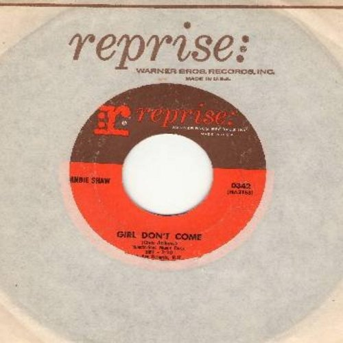 Shaw, Sandie - Girl Don't Come/I'd Be Far Better Off Without You (with Reprise company sleeve) - EX8/ - 45 rpm Records